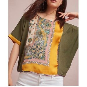 Anthropologie TINY Reeves Top